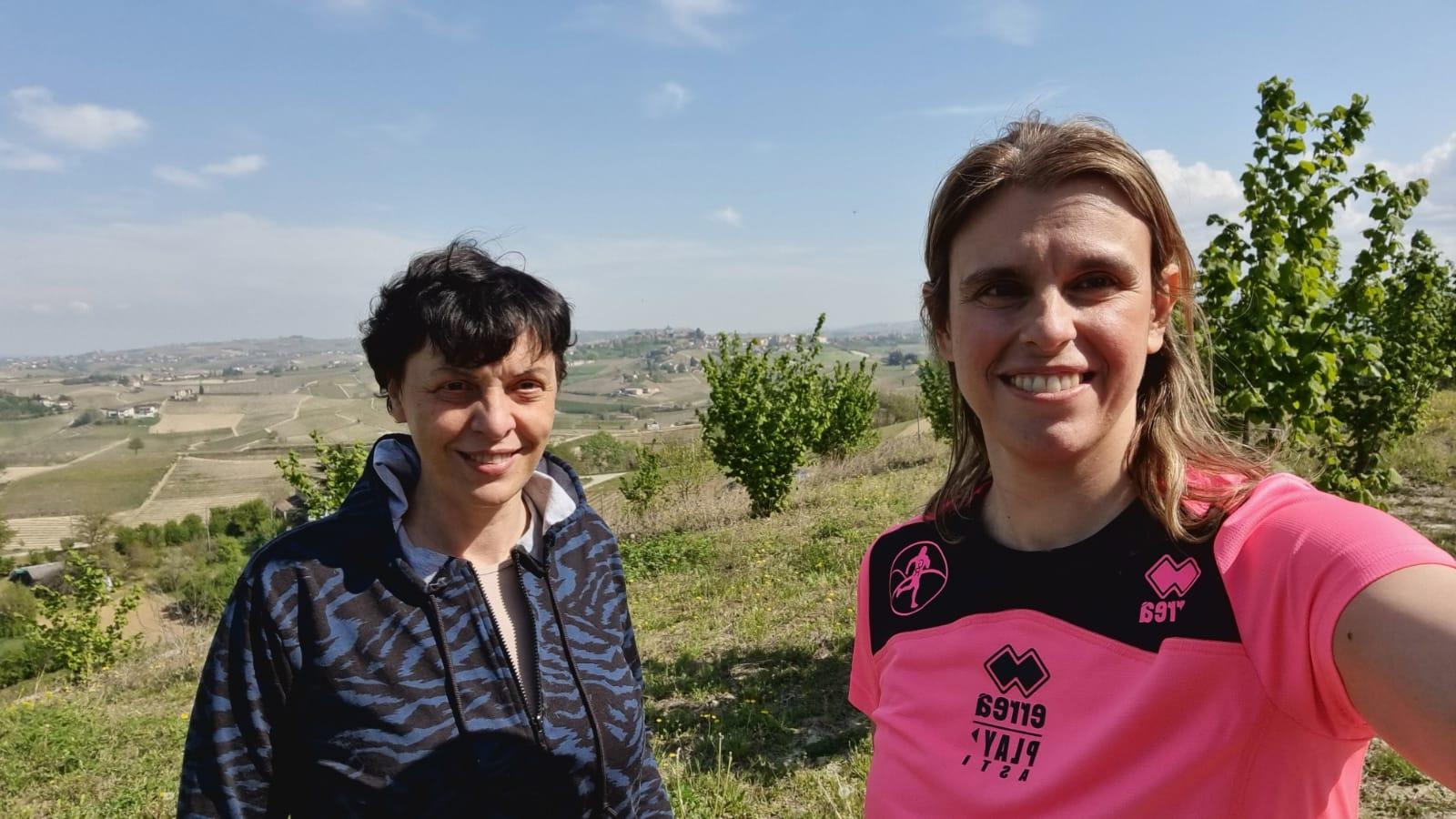 Maria Grazia Billi and me