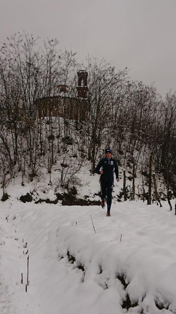 Neve al Tempio di San Marcello a Montemarzo