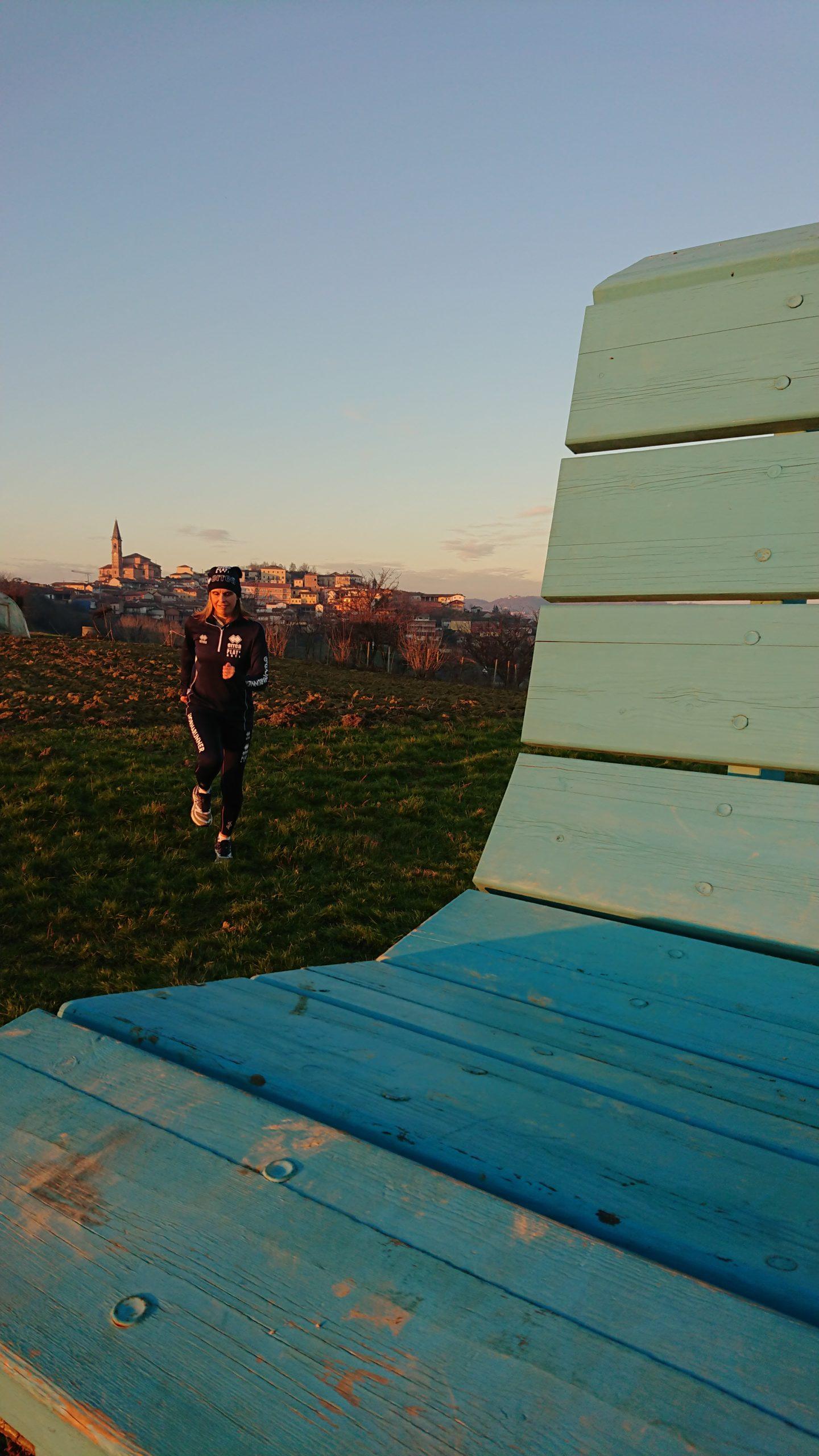 A Tonco tra la Panchina Gigante Azzurra e piacevoli ricordi