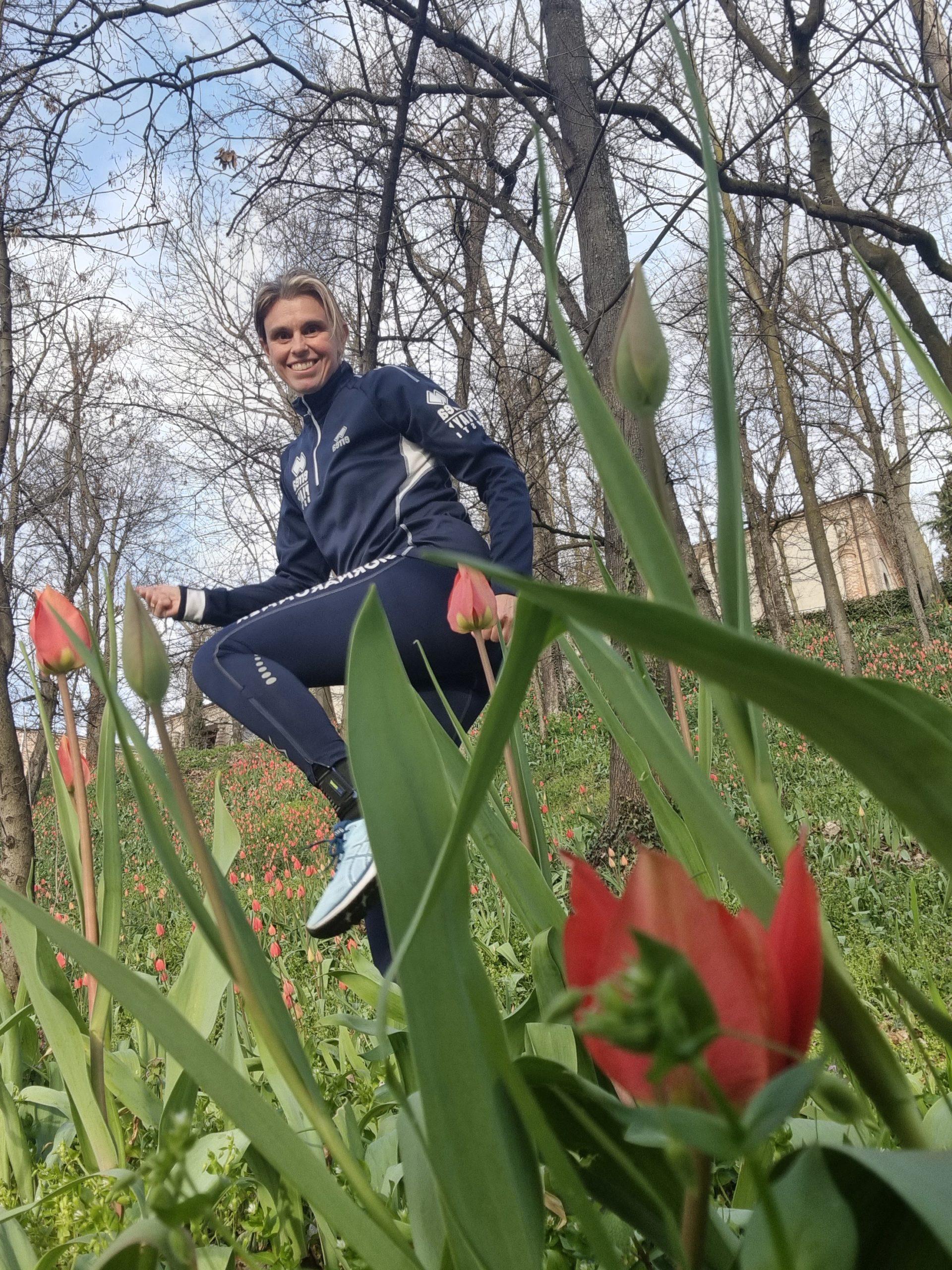 Sono sbocciati i tulipani nel parco del Castello Reale di Govone!