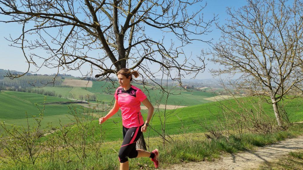 Vista sulla campagna a Celle Enomondo