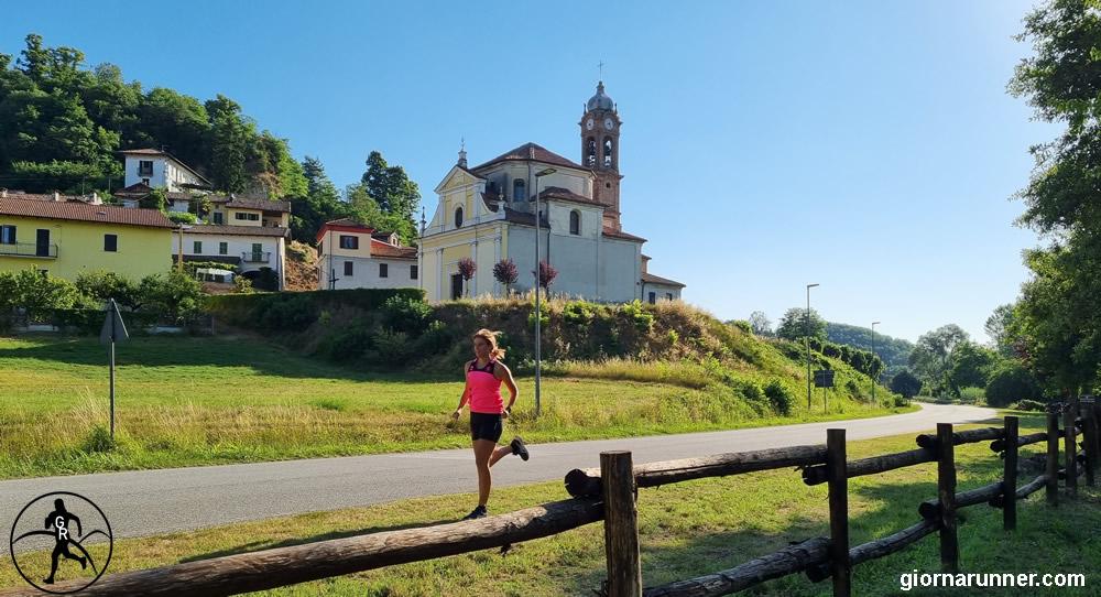 Belveglio e la Chiesa di Santa Maria
