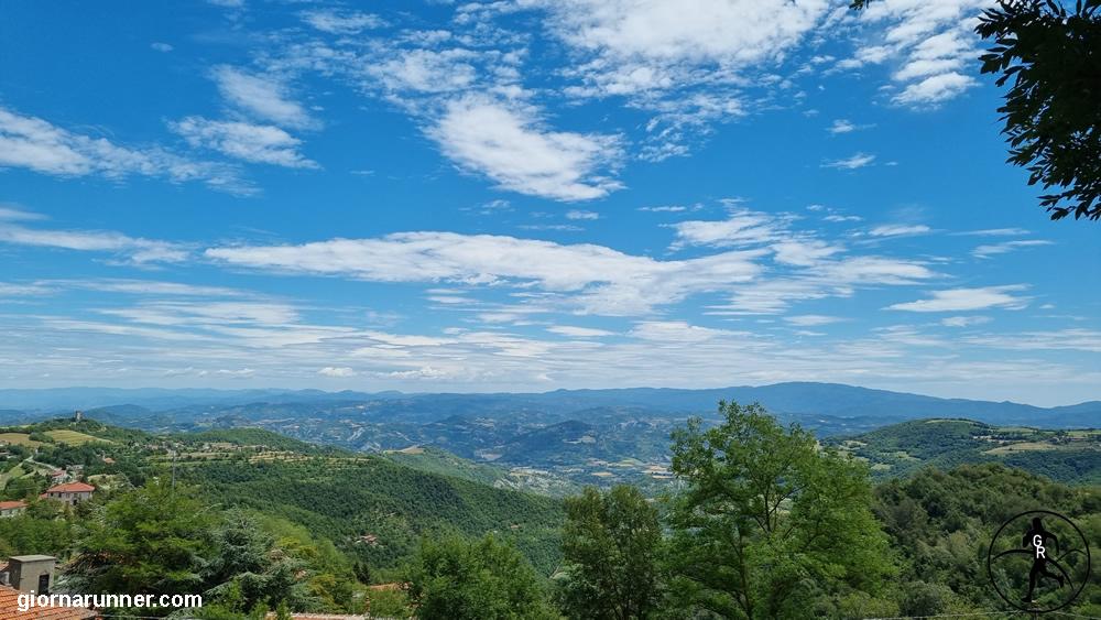vista da Roccaverano