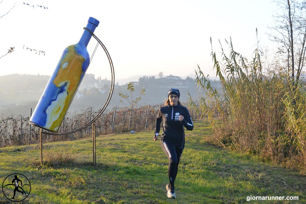 Bottiglia Gigante n. 2 a Mombercelli in autunno inoltrato