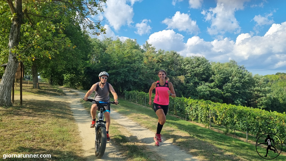 Percorso tra Portacomaro e Scurzolengo: a piedi o in bici, che spettacolo!