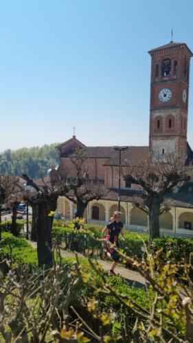 La chiesa parrocchiale di Tigliole