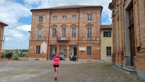Piazza Alfieri a Revigliasco d'Asti