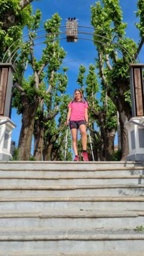 La scala di Piazza 1275 a San Damiano d'Asti