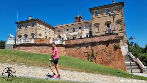 In giro per il parco del Castello Reale di Govone