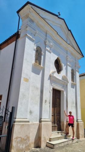 La chiesa di San Rocco a Celle Enomondo
