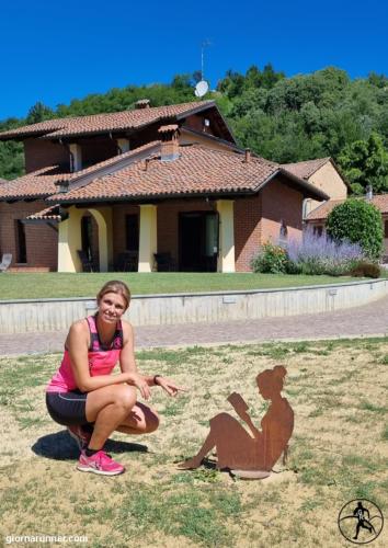 La bambina a Villa Firmino