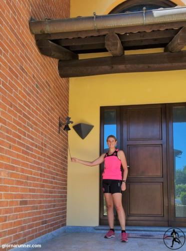 L'entrata di Villa Firmino