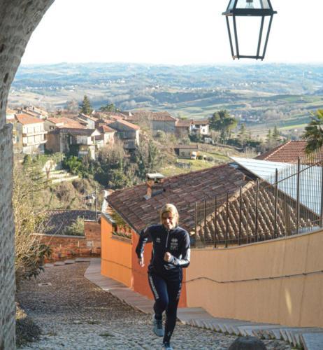 Cocconato e la vista sul Monferrato