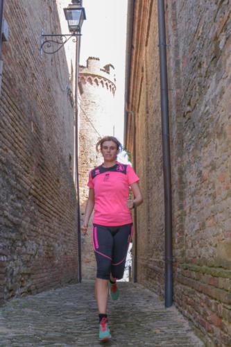 Piazza Castello a Calosso