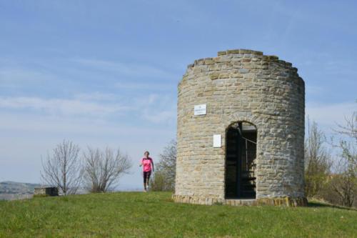 La torre di Bricco Crevacuore a Calosso
