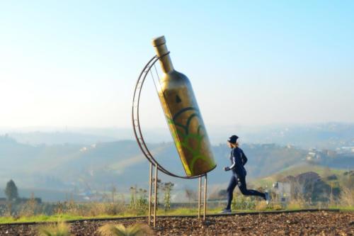 Bottiglia gigante a Mombercelli