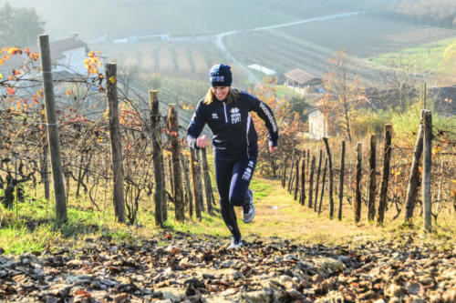Tra le vigne a Mombercelli
